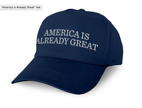 America is already great hat