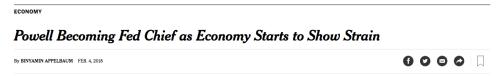 NYT scare headline